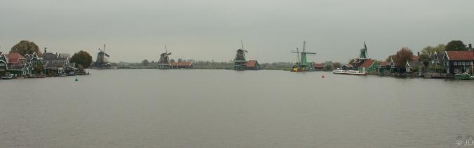The Five windmills of Zaanse Schaans