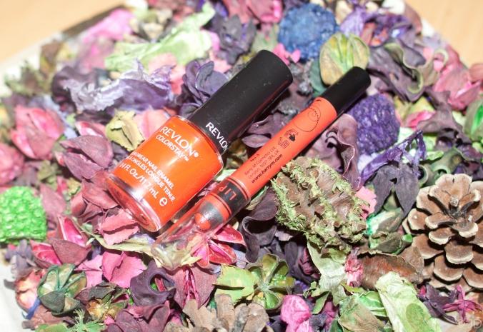 Orange lipstick trend SS14