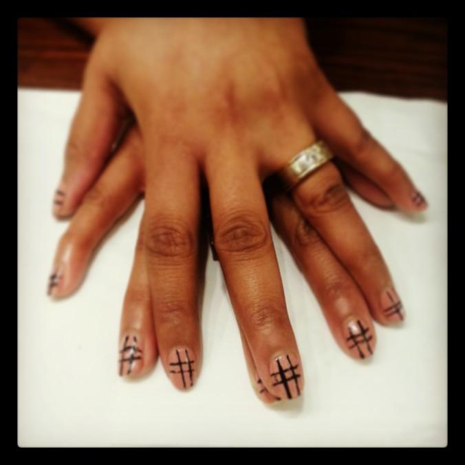 Nail art trends SS14