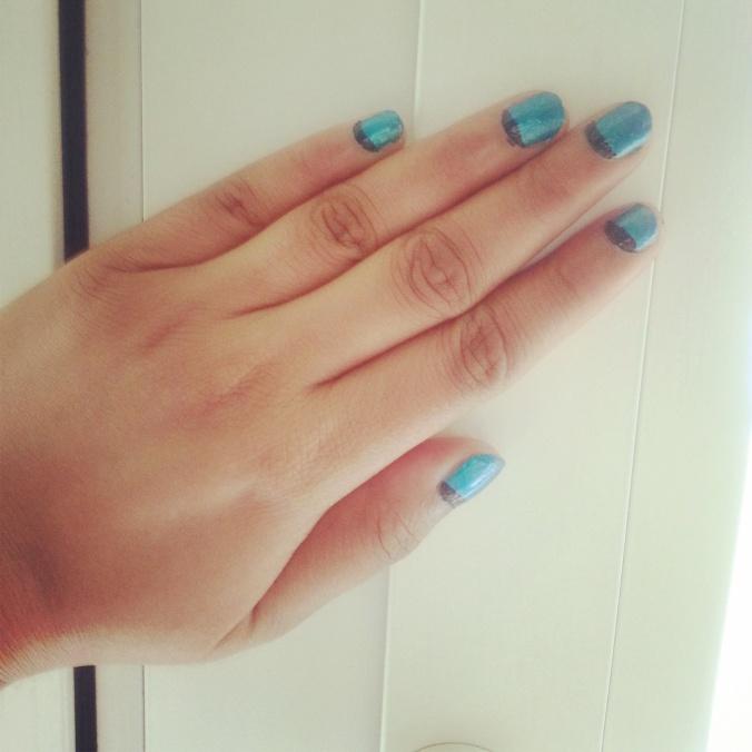 ruffian nail art design