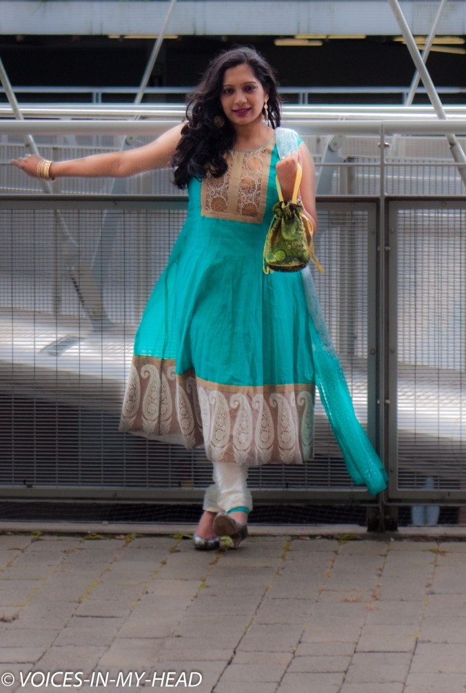 Indian summer: how to dress anarkali