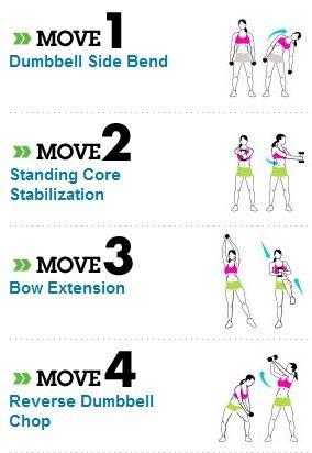 postoartum core exercises