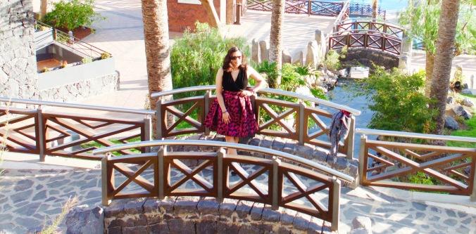 Costa Adeje, Tenerife, Melia jardaines del Teide